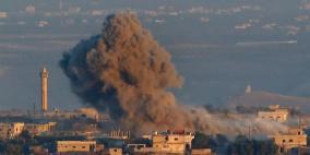 """فيديو- قتلى في قصف إسرائيلي على """"داعش"""" بسوريا"""