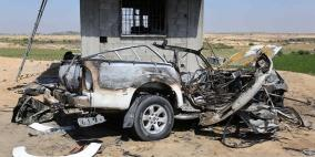 4 إصابات في قصف إسرائيلي استهدف مركبة شمال غزة