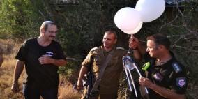 """""""بالون غريب"""" يسقط في غلاف غزة أثناء اجتماع الكابينت"""