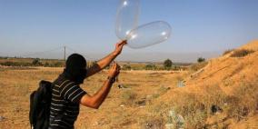 طائرة استطلاع تستهدف مطلقي البالونات شمال القطاع