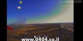 فيديو: هكذا فشلت طائرات الاحتلال في اعتراض دفعة من بالونات غزة
