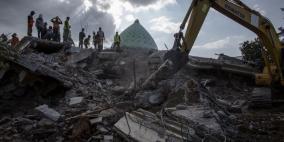ارتفاع كبير في حصيلة قتلى زلزال إندونيسيا