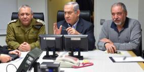 نتنياهو يمنع ليبرمان من إعلان الحرب على غزة