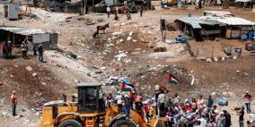 العفو الدولية: هدم الخان الأحمر عمل قاس يمثل جريمة حرب