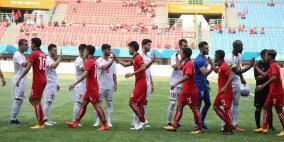 منتخب فلسطين الأولمبي يحقق فوزا صعبا على لاوس