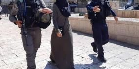 القدس: الاحتلال يعتقل فتاة ويستدعي سيدة للتحقيق