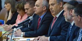 نتنياهو يهدد بتفكيك الحكومة واجراء انتخابات مبكرة