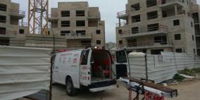 وفاة عاملين فلسطينيين بحادث عمل في الداخل