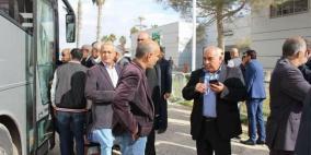 وفد من المالية غزة يغادر الى القاهرة