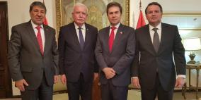 المالكي يشارك في حفل تنصيب الرئيس الجديد للباراغواي