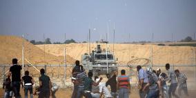 شهيدان وعشرات الاصابات على حدود قطاع غزة