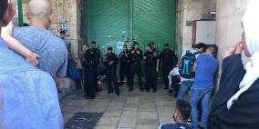 الاحتلال يغلق المسجد الأقصى ويطرد المصلين