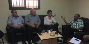 لجنة المتابعة المركزية للجان الشعبية في لبنان تلتقي نائبة المدير العام للأونروا
