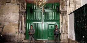 الاحتلال يعيد فتح ابواب  المسجد الاقصى
