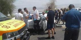 مصرع فلسطيني من إكسال بحادث سير مروع في الأغوار