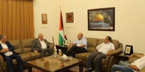 العالول ودبور يلتقيان نائب الامين العام للجبهة الديمقراطية
