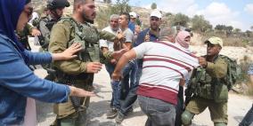 إصابات واعتقالات وأعمال تجريف في رام الله