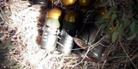 هندسة المتفجرات تتلف 12 قنبلة شرق جنين