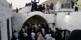 """مستوطنون برفقة وزير اسرائيلي يقتحمون """"مقام يوسف"""""""