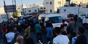 اصابة 14 طالبة بجروح في حادث دهس بالخليل
