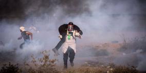 صور- استشهاد طفل واصابة العشرات على حدود غزة