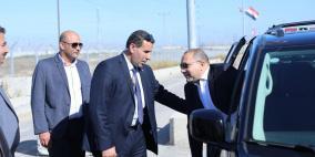 وفد امني مصري في رام الله اليوم للقاء الرئيس عباس