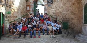 30شابا فلسطينياً من الشتات يتفاعلون مع الملتقى الثقافي الفلسطيني