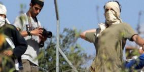 4 إصابات في هجوم للمستوطنين على مركبة جنوب نابلس