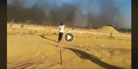 فيديو يوثق الجريمة بوضوح: لحظة قنص الاحتلال الطفل ابو طيور