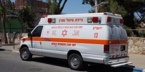 إصابة خلال حادث سير في الناصرة