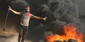 """""""المقاومة توحدنا"""" شعار الجمعة المقبلة لمسيرة العودة"""