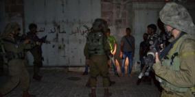 الاحتلال يعتقل أربعة مواطنين من بيت لحم ورام الله