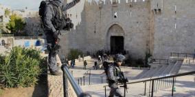 شهيد برصاص الاحتلال قرب باب العامود في القدس