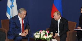 مكالمة هاتفية بين نتنياهو وبوتين حول حادثة سقوط الطائرة الروسية