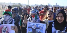 """""""انتفاضة الأقصى"""" شعار الجمعة المقبلة على حدود غزة"""