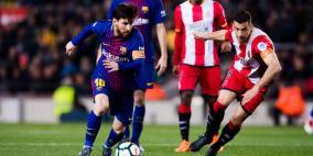 رفض إقامة لقاء برشلونة وجيرونا خارج اسبانيا