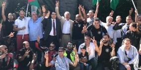 ايطاليا: موكب دراجات نارية تضامنا مع فلسطين