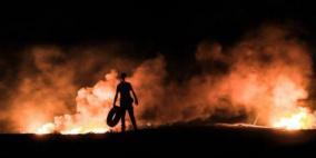 شهيد و20 إصابة قرب حدود غزة