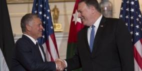 العاهل الأردني يؤكد لواشنطن ضرورة استمرار الأونروا بمهامها