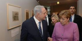 ميركل تتوجه إلى إسرائيل ولن تتلقي مسؤولين فلسطينيين