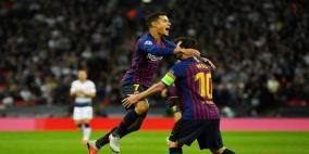 ميسي سكة الانتصارات لبرشلونة و نيمار يعيد التوازن لباريس