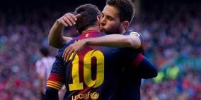جوردي ألبا: نلعب مع أفضل لاعب في العالم