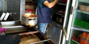 الصحة توقف مطعما عن العمل في الخليل