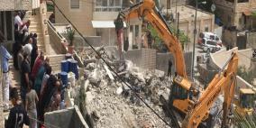 الاحتلال يجبر عائلةً على هدم منزلها ذاتياً في القدس