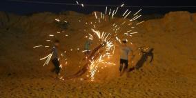 اصابات برصاص الاحتلال في مواجهات ليلية شرق غزة