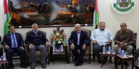 حماس تكشف عن سلسلة مشاورات ولقاءات بشأن الوضع بغزة
