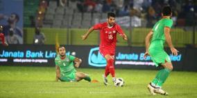 منتخب فلسطين يتوج بلقب بطولة الكأس الذهبية