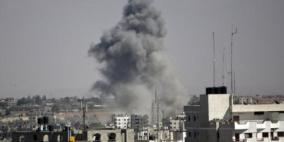 إصابة في قصف إسرائيلي شمال ووسط غزة