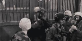 عشرات الإصابات خلال مهاجمة الاحتلال مدرسة جنوب نابلس