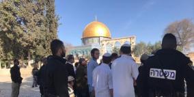 """2230 مستوطنا اقتحموا الأقصى خلال عيد """"الفصح"""" العبري"""